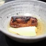 傳 - 筍 海老芋 出汁浸し