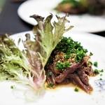 傳 - 牛ほほ肉の煮込み キヌア