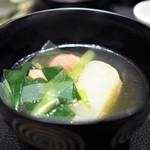 傳 - 蕪・鴨・葱の煮物