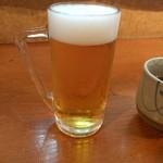 中川 - ランチビール200円