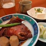 中川 - 金目鯛カマ煮つけ定食