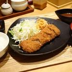 ももやま - 料理写真:2016年9月 「棒」ヘレかつセット【1000円】