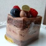 カファレル - ジャンドゥーヤショートケーキ♡