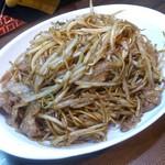 キッチンわたなべ - 料理写真:・日田風焼きそば 650円(税込)
