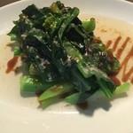 カイラン菜のオイスターソース
