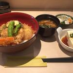 61099455 - 鶏肉と野菜の天丼