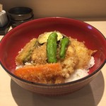 61099461 - 鶏肉と野菜の天丼