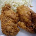 みはま食堂 - 大きなチキン唐揚げ