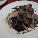 おーぼんあくいゆ - 勝浦ジビエ、猪フィレ肉のソテー、バルサミコソース