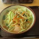 食事処 東ぬ浜 - 野菜そば