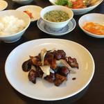 中国料理 伊部 - 黒酢の酢豚はそんなに美味しくなかったかな〜