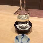 米増 - 男山*\(^o^)/*❣️山形のお酒〜♪       手酌で^_−☆捻りお猪口❗️       同じようなん持ってる〜♪高かった(^◇^;)