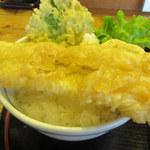 天丼 元亀 - 穴子アップ