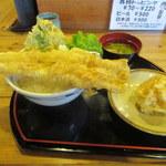 天丼 元亀 - 穴子天丼セット