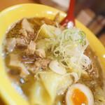 麺屋 すずらん - 黄色丼 + ワンタン + メシ
