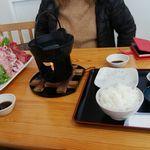 みなと市場 小松鮪専門店 - 「鮪頭定食」