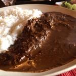 curry味善 - トロトロ牛すじがいっぱい!カレー自体は、欧風の、ホテルカレーです(2017.1.11)