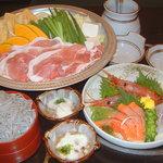そばよし庵 - 大関コース 2,700円 手軽に楽しんでいただけるちゃんこ鍋のコースです。