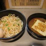 つけ麺 玄瑞 - チーズカレーつけ麺(並盛)