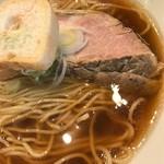 中華そば まるたけ - あっさり煮干中華そば