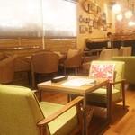 hole hole cafe&diner - ハワイアン・キルトのクッション