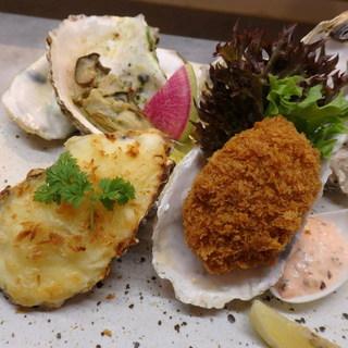 いろんな牡蠣料理が楽しめます!