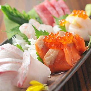 経験豊かな目利きが選ぶ旬の魚たち!