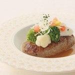 ベーカリーレストランサンマルク - ハンバーグステーキ生姜風味の和風ソースで