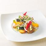 ベーカリーレストランサンマルク - 若鶏と彩り野菜のグリル