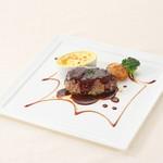ベーカリーレストランサンマルク - ハンバーグステーキエッググラタン添え