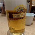 とんかつ和幸 - 生ビール