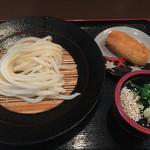 もり - ざるうどん(*゚∀゚*)350円