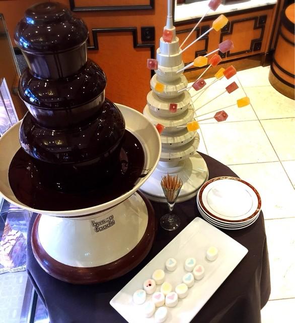ジェルボー 東京本店 - チョコレートファウンテン