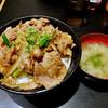 Densetsunosutadonya - 料理写真:ガリバタ牛カルビ丼(飯増し)