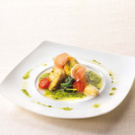 ベーカリーレストランサンマルク - 白身魚のポアレバジルバターソース