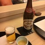 やま中・本店 鮨と日本料理  - 瓶ビール