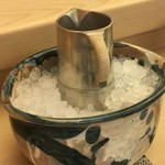やま中・本店 鮨と日本料理  - 冷酒にスイッチ