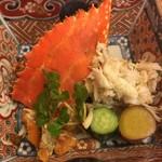 やま中・本店 鮨と日本料理  - わたりがに酢