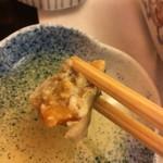 やま中・本店 鮨と日本料理  - 内子がたまらない