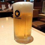 61123225 - はん 「生ビール(小)」