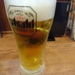伝説のすた丼屋 - 2016年12月 生ビール 630円