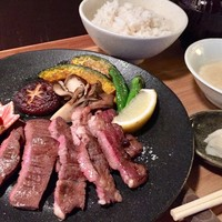 かまだ茶寮 円山 - 円山牛たん定食