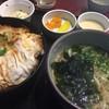 十兵衛うどん - 料理写真:カツ丼セット