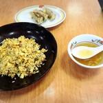 餃子の王将 - 焼めし&餃子&スープ
