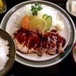 藤屋 - 「豚テキ定食」