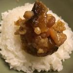 垣内みそ店 - 料理写真:麦、米、大豆、うり、生姜…など具沢山\(^o^)/ ご飯にも合うd(^_^o)