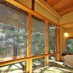 Sekiyou - お部屋の広縁はとても風情あり。