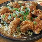 和食れすとらん天狗 - 鶏の唐揚げ さっぱり和風ソース