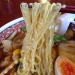 ポパイ ラーメンレストラン - 五目ラーメン(麺)