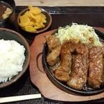 豚屋とん一 - トンテキ定食